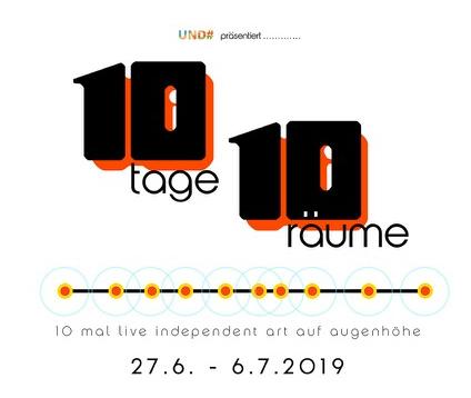 """Impressionen von """"10 Tage 10 Räume"""""""
