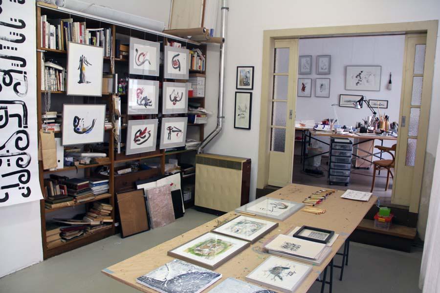 Schrifthof – jetzt unter den Kunsträumen