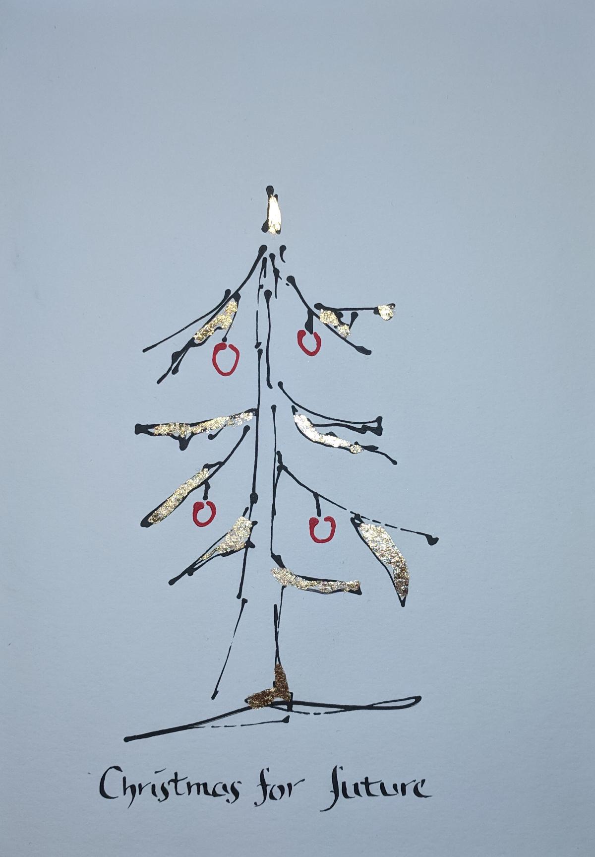 Weihnachtskarte - Stille Zeit