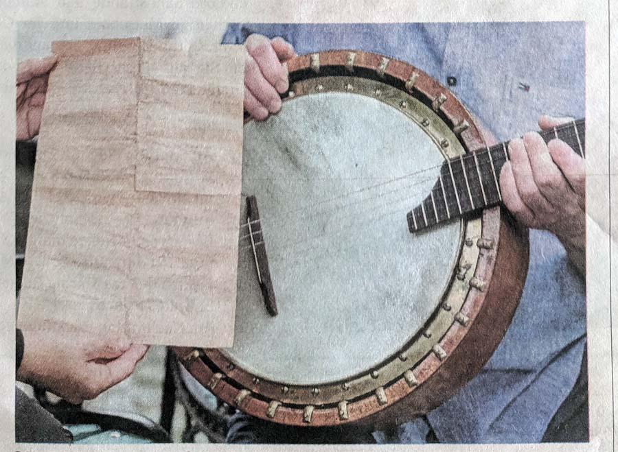 Ein Brief im Banjo