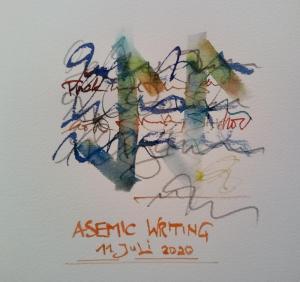 Asemic-writing